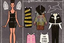dress the (paper) doll 3 - the new generation