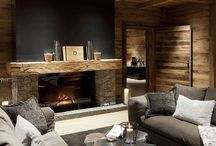 Chalet de luxe / Beautiful mountain homes and Design inspirations