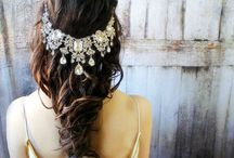 • | Wedding hair styles :