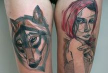 Tattoos  / My own and tattoo styles I like
