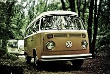 Volkswagen Van & Fiat 500 <3