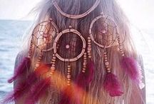 Dreamcatchers / Beautiful dreamcatcher jewelry and inspiring pictures!