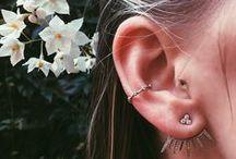 Ear Piercings / Beautiful edgy ear piercings and jewelry.