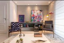 Living Room - Sala de Estar / Sala de Estar - Living Room, por Luni Arquitetura Contato: (11) 4106-7656 Projetos@luniarquitetura.com.br  Luni Arquitetura - Av Rouxinol 1041, Moema, São Paulo