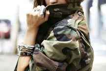 Camo Style / Military, army and camouflage style, jewelry, piercings and accessories.