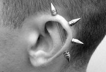Industrial Piercing Jewelry / Industrial piercing jewelry, ear piercing jewelry and ideas.