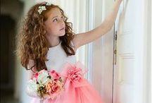 Tyttöjen mekkoja - vaaleanpunaista