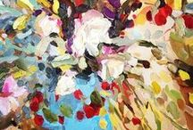 Laura Jones Art / Gorgeous floral oil paintings by Laura Jones.