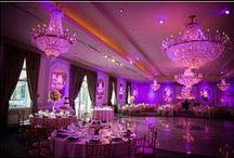mariage rouge, rose & violet / Couleur de mariage trio ! / by Pauline Empress Décor