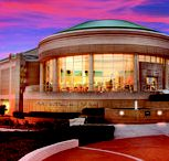 Women's Basketball Hall of Fame | Knoxville Wedding Venue / An elegant and unique setting, overlooking downtown Knoxville with a sweeping staircase and panoramic view, the Women's Basketball Hall of Fame evokes an ambiance perfectly suited for wedding celebrations. For more information: (865) 633-9000