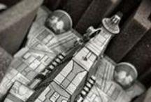 Star Wars X-Wing / Foam trays for Star Wars miniature games