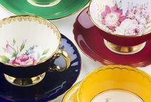 Tea / Teás csészék, kannák