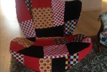 Stoelen / fauteuils opnieuw gestoffeerd / Inspirerende voorbeelden van opnieuw gestoffeerde stoelen
