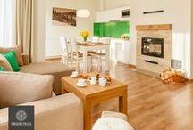 Apartament Gubałówka / Serdecznie zapraszamy do Apartamentu Gubałówka. Położony w zacisznym miejscu apartament, zapewnia wspaniałe warunki i pozwala odpocząć od codziennych spraw.  Z salonu rozprzestrzenia się piękny widok na Tatry, oraz na pasmo Gubałówki.