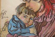 Paintings - Children