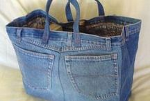 Jeans, Jeans, Jeans / Ideas for what to with all your leftover jeans. / by Jo Oakes