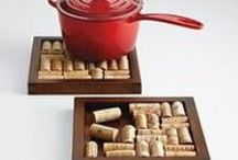 Crafts: So Corky / Things that can be made with corks. SEE HOW TO PREPARE CORKS FROM THE TUTORIAL AT THE BOTTOM OF THIS PAGE FIRST. / by Jo Oakes