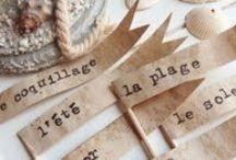 Paper & craft / by Rue de la Déco (www.ruedeladeco.com)