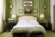 Bedrooms / by Ellen Hickey