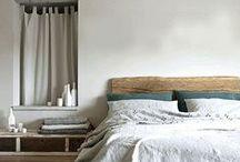 [ Bedroom ] / Inspiration pour la décoration de la chambre / by Rue de la Déco (www.ruedeladeco.com)