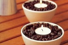 Creative with Candles / Candles can help set a mood.  These are some ideas to help.