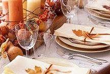 Great Thanksgiving Ideas! / Warm up your home with some of these wonderful Thanksgiving decorating ideas!