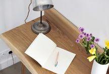 [ Workspace ] / Inspiration pour la décoration du bureau / by Rue de la Déco (www.ruedeladeco.com)