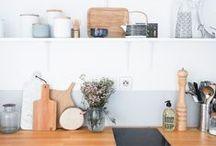 [ Kitchen ] / Inspiration pour la décoration de la cuisine / by Rue de la Déco (www.ruedeladeco.com)
