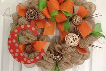 Wreath Ideas / by Heather Carroll