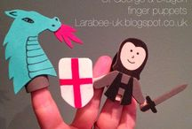 Family fun - St George's day / St George's day toddler and pre-school crafts and activities