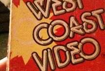 West Coast Video / VHS, Beta, 80s, Video Rental, Videotape