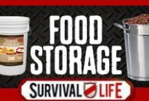 Food Storage / Food storage survival ideas for survival and long term food storage guides for creating a top-notch food storage system. Food storage containers, food storage organization and food storage recipes to help you stock up and prepare. For the best recipe tips for storing food, shlef life guides, follow Survival Life on Pinterest, Facebook and on our blog at survivallife.com / by Survival Life | Prepping - Outdoors Ideas