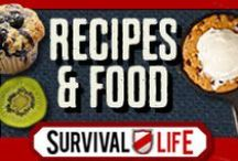 Recipes and Food Storage / Delicious homemade recipes for preppers. This is a collection of the best recipes and food storage. From canning, dehydrated foods, bread recipes, quick and tasty recipes for camping, breakfast, lunch, dinner and so much more! Only here at www.survivallife.com - To receive an invite, simply follow all of my boards and message me. No Spamming, unrelated articles will get deleted.