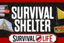 Survival Shelter / Survival shelter. Tips, tricks, and information on creating survival shelters in any kind on environment or condition.  / by Survival Life | Prepping - Outdoors Ideas