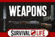 Weapons / Weapon information and tips for building homemade weapons from scratch and stocking a robust arsenal.  DIY weapons and project for homemade weapons, instructions, best weapons, do it yourself defense, guns and ammo for preppers and survival. / by Survival Life | Prepping - Outdoors Ideas