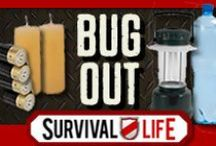 Bug Out Gear / How to bug out well. Tips for the best bug out bag, bug out location, bug out gear and bug out bag checklists. / by Survival Life   Prepping - Outdoors Ideas