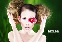 My work - #Beauty & #Creative #makeup  / My work in photos - from beauty to creative !
