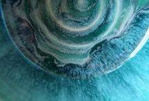 pottery: glaze