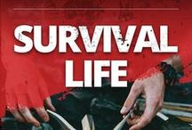 Survival Life / Survival prepping ideas, survival gear, the best survival kit, survival knives, weapons everything you need for preparedness.