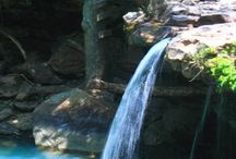 Water / Water falls and water fountains