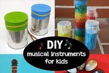 DIY Musical Activities for Kids!