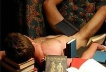 Men and Books / Men as readers or writers