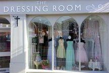 Bridal Window Displays / Displays at The Dressing Room - Garstang UK  Tel: 01995 600111 http://www.thedressingroom-garstang.co.uk/