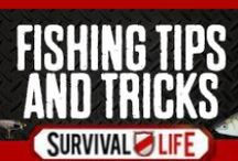 Fishing Tips and Tricks / Our best fishing tips, cool fishing gear and tips for catching fish. DIY fishing poles, bait, cool fishing hacks and homemade fishing gear that will up your fishing game. How to catch big fish, more fish, how to make your own equipment for survival and just for fun. / by Survival Life | Prepping - Outdoors Ideas