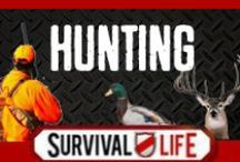 Hunting / Hunting Gear and Hunting Tips for Deer and other game, best skills for survival and for hunting game for meat. Deer processing tips, hunting weapons and top hunting skills. For best hunting guns and hunting rifles, hunting season facts and other hunting info, follow Survival Life on Pinterest, Facebook and on our blog at survivallife.com
