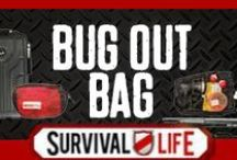 Bug Out Bag / Bug out bag list ideas for survival prepping and cool finds on  bug out gear. Our top finds for bug out bag gear and other important bug out bag stuff for emergency preparedness. For the ultimate bug out bag checklist and best prepper tips & survival skills, follow Survival Life on Pinterest, Facebook and on our blog at survivallife.com  / by Survival Life | Prepping - Outdoors Ideas