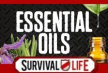 Essential Oils / by Survival Life | Prepping - Outdoors Ideas