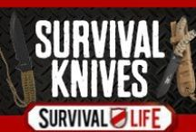 Survival Knives / by Survival Life | Prepping - Outdoors Ideas