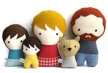 Dolls / bonecos / bonecas de tecido, rag dolls, bonecos