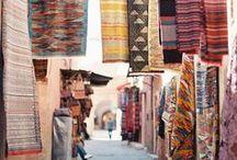 Textiles / Ethnical textile materials.